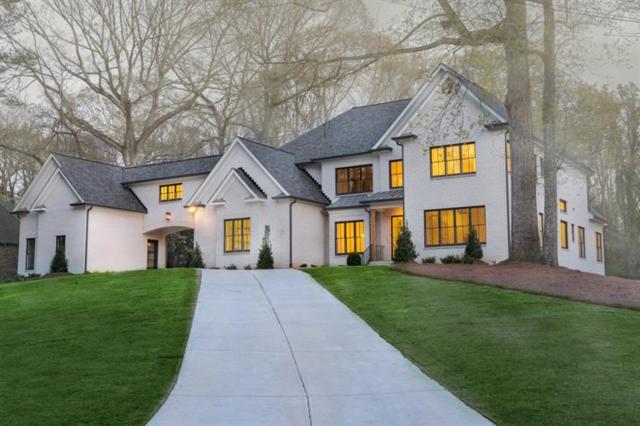 1004 Coronado Drive NW, Atlanta, GA 30327 (MLS #5947338) :: The Bolt Group
