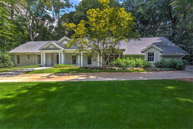 3699 Castlegate Drive NW, Atlanta, GA 30327 (MLS #5951243) :: The Russell Group