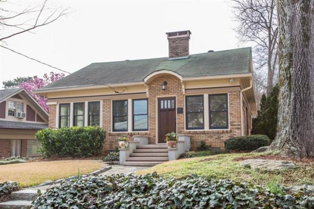 1101 Rosedale Drive NE, Atlanta, GA 30306 (MLS #5968618) :: North Atlanta Home Team