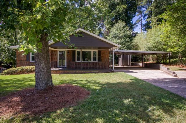606 Green Acres Road, Smyrna, GA 30080 (MLS #6071750) :: The Hinsons - Mike Hinson & Harriet Hinson