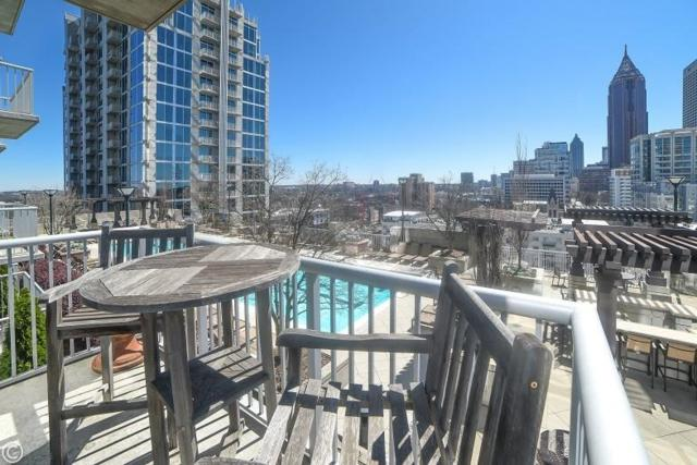 855 Peachtree Street NE #1205, Atlanta, GA 30308 (MLS #6516377) :: The Zac Team @ RE/MAX Metro Atlanta