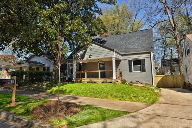 965 SW Washington Place SW, Atlanta, GA 30314 (MLS #6530734) :: Iconic Living Real Estate Professionals