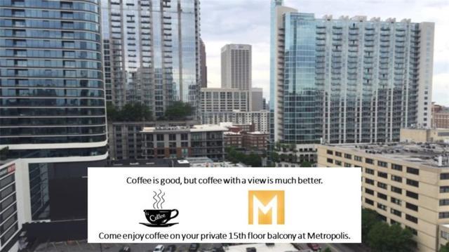 923 Peachtree Street NE #1523, Atlanta, GA 30309 (MLS #6542837) :: RE/MAX Paramount Properties