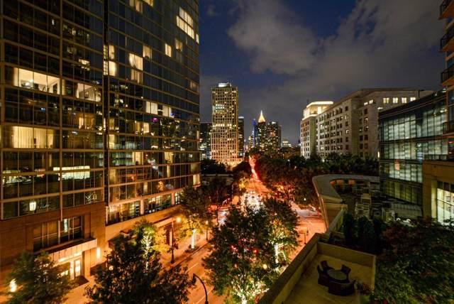 1080 Peachtree Street NE #607, Atlanta, GA 30309 (MLS #6592075) :: Todd Lemoine Team