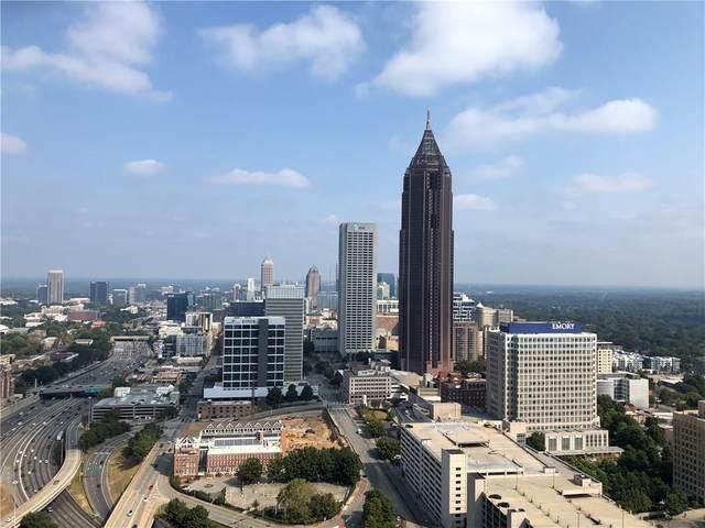 400 W Peachtree Street NW #3802, Atlanta, GA 30308 (MLS #6624508) :: Todd Lemoine Team