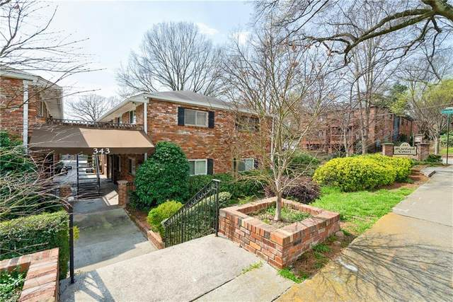343 8th Street NE E-1, Atlanta, GA 30309 (MLS #6657954) :: Rich Spaulding