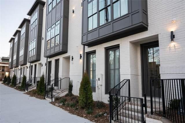 574 Boulevard Place NE #14, Atlanta, GA 30308 (MLS #6690804) :: Rich Spaulding