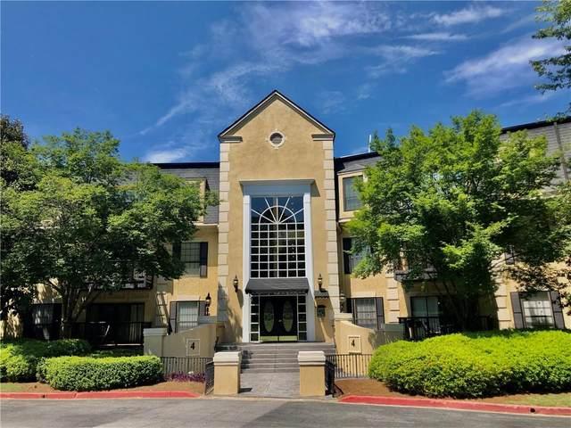4115 NE Pine Heights Drive NE #4115, Atlanta, GA 30324 (MLS #6714676) :: North Atlanta Home Team
