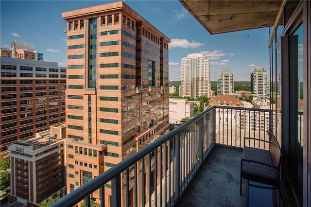 44 Peachtree Place NW #1931, Atlanta, GA 30309 (MLS #6743431) :: Tonda Booker Real Estate Sales