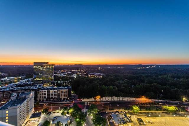 3338 Peachtree Road NE #602, Atlanta, GA 30326 (MLS #6773426) :: Dillard and Company Realty Group