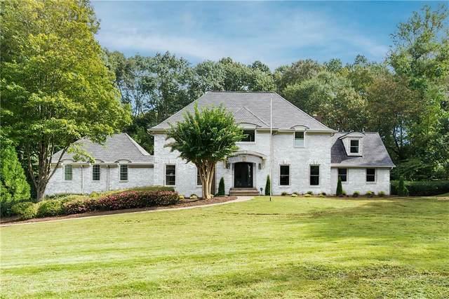 4182 Ridgegate Drive, Peachtree Corners, GA 30097 (MLS #6792726) :: The Butler/Swayne Team