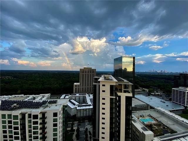 3481 Lakeside Drive NE Penthouse 3505, Atlanta, GA 30326 (MLS #6800127) :: Good Living Real Estate