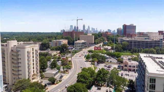 2161 Peachtree Road NE #807, Atlanta, GA 30309 (MLS #6847820) :: North Atlanta Home Team