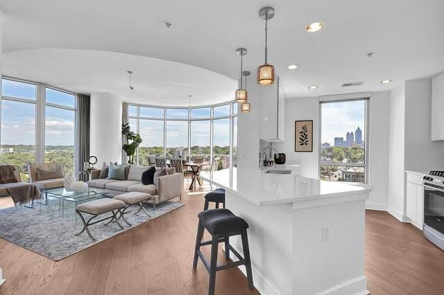222 12th Street NE #1206, Atlanta, GA 30309 (MLS #6860599) :: AlpharettaZen Expert Home Advisors