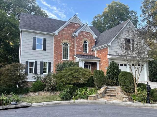 1251 Brookhaven Hideway Court NE, Brookhaven, GA 30319 (MLS #6896733) :: The Kroupa Team | Berkshire Hathaway HomeServices Georgia Properties