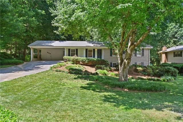 6930 Lockridge Drive, Peachtree Corners, GA 30360 (MLS #6900263) :: North Atlanta Home Team
