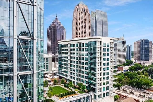 40 W 12th Street NW #806, Atlanta, GA 30309 (MLS #6907719) :: Tonda Booker Real Estate Sales
