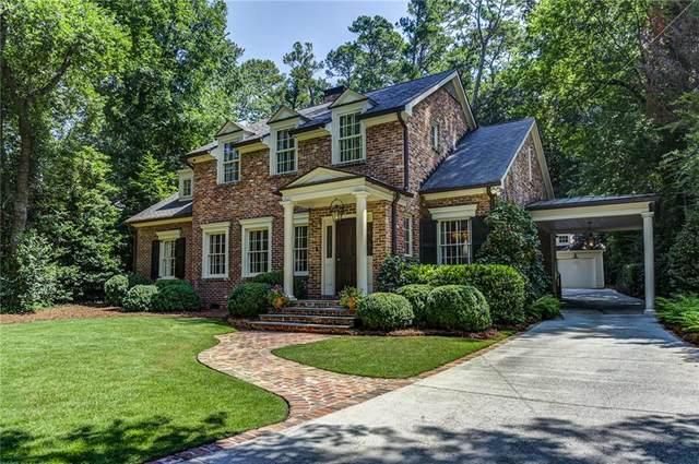 2421 Oldfield Road NW, Atlanta, GA 30327 (MLS #6922239) :: The Hinsons - Mike Hinson & Harriet Hinson