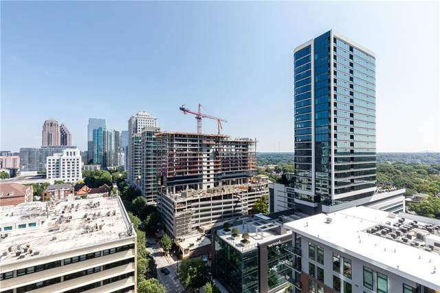 860 Peachtree Street NE #1501, Atlanta, GA 30308 (MLS #6937850) :: North Atlanta Home Team