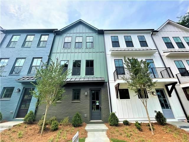4445 Buckley Way #66, Atlanta, GA 30342 (MLS #6944714) :: Atlanta Communities Real Estate Brokerage