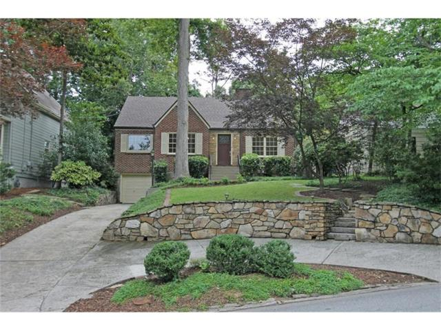 1268 University Drive, Atlanta, GA 30306 (MLS #5869447) :: North Atlanta Home Team