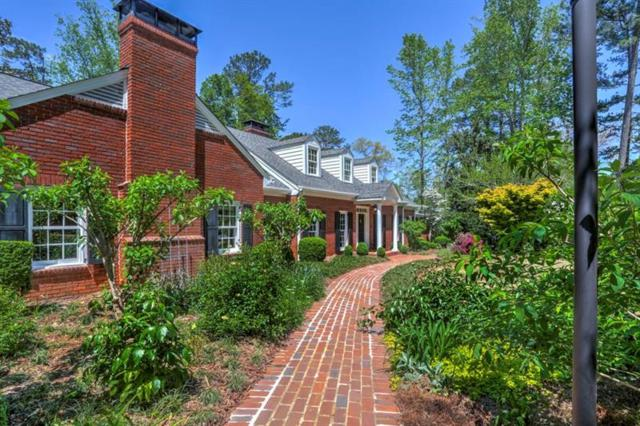 3628 Castlegate Drive NW, Atlanta, GA 30327 (MLS #5995430) :: The Russell Group