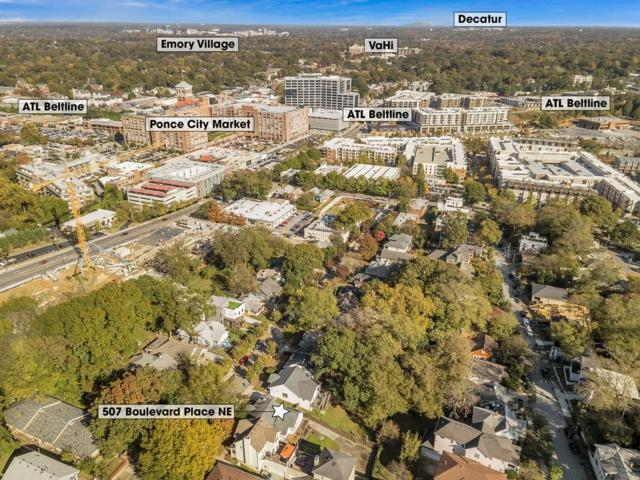 507 Boulevard Place NE, Atlanta, GA 30308 (MLS #6027539) :: The Zac Team @ RE/MAX Metro Atlanta