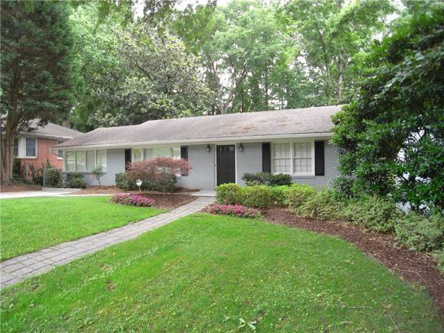 1319 Briarwood Drive, Atlanta, GA 30306 (MLS #6573772) :: The Zac Team @ RE/MAX Metro Atlanta