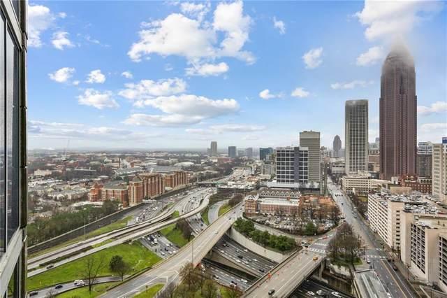 400 W Peachtree Street NW #2616, Atlanta, GA 30308 (MLS #6691767) :: Good Living Real Estate