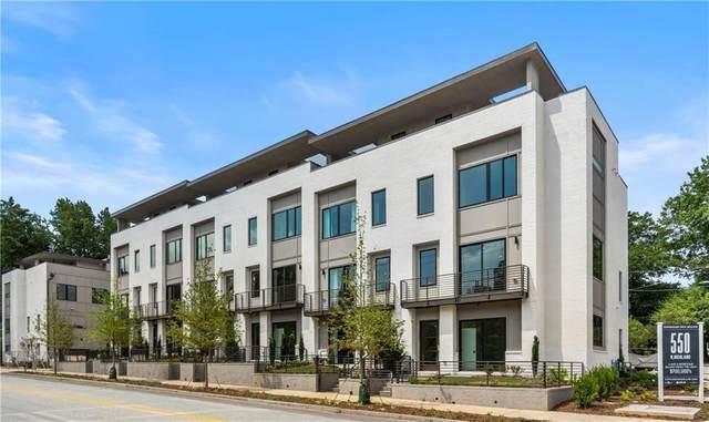 550 N Highland Avenue #13, Atlanta, GA 30307 (MLS #6732475) :: Thomas Ramon Realty