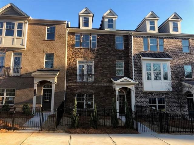 5921 Terrace Bend Place #66, Peachtree Corners, GA 30092 (MLS #6763683) :: North Atlanta Home Team