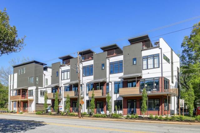 292 Gordon Avenue NE E, Atlanta, GA 30307 (MLS #5978798) :: Buy Sell Live Atlanta