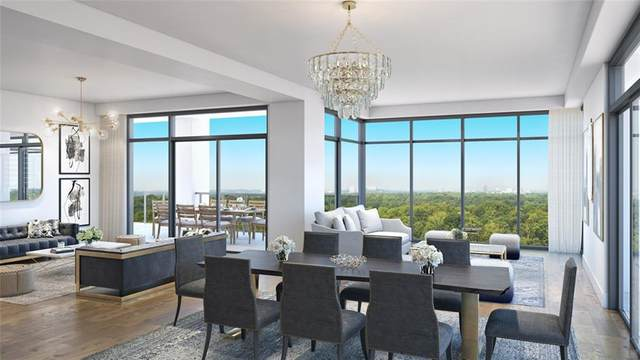 2520 Peachtree Road NW #1701, Atlanta, GA 30305 (MLS #6853875) :: The Kroupa Team | Berkshire Hathaway HomeServices Georgia Properties