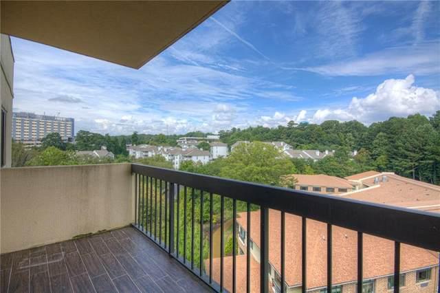 1800 Clairmont Lake #709, Decatur, GA 30033 (MLS #6911072) :: North Atlanta Home Team