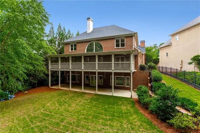 7145 Greatwood Trail, Alpharetta, GA 30005 (MLS #6895633) :: Charlie Ballard Real Estate