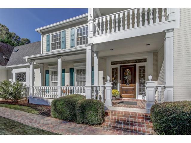 1700 Brandon Hall Drive, Sandy Springs, GA 30350 (MLS #5831550) :: North Atlanta Home Team