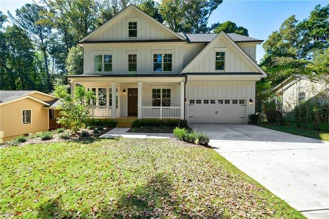 1668 Beacon Hill Boulevard NE, Atlanta, GA 30329 (MLS #6725175) :: The Cowan Connection Team