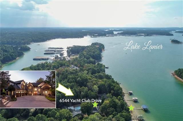 6544 Yacht Club Road, Flowery Branch, GA 30542 (MLS #6626378) :: Todd Lemoine Team