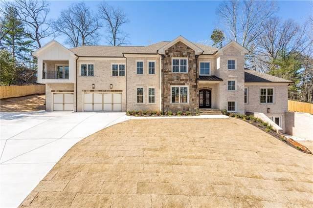805 Bayliss Drive NE, Marietta, GA 30068 (MLS #6638423) :: North Atlanta Home Team