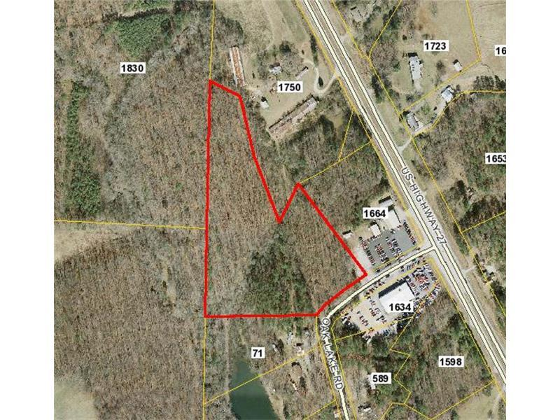 0 Oak Lake Road, Bremen, GA 30110 (MLS #5653070) :: North Atlanta Home Team