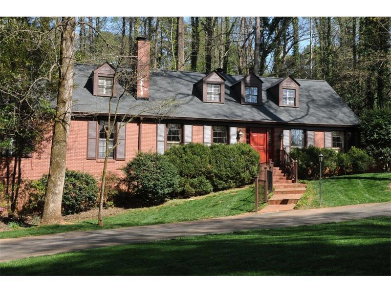 607 Longstreet Drive SW, Marietta, GA 30064 (MLS #5668365) :: North Atlanta Home Team