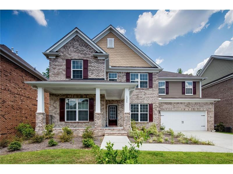 1266 Calistoga Way, Lawrenceville, GA 30043 (MLS #5728675) :: North Atlanta Home Team