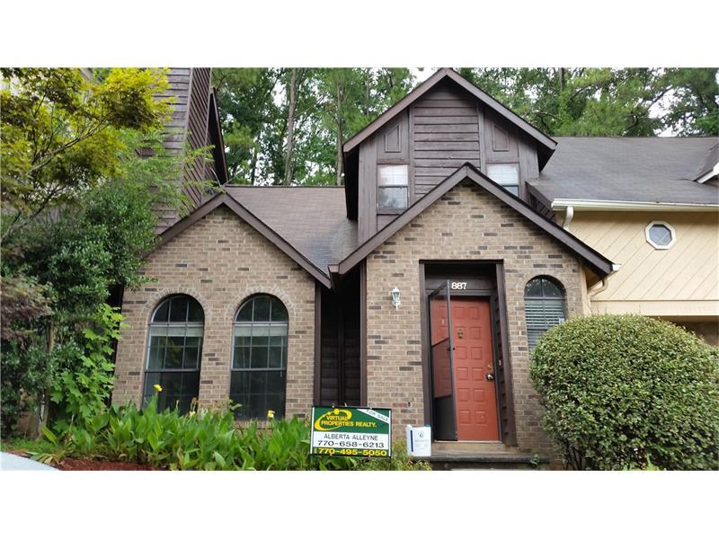 887 Brandy Oaks Lane, Stone Mountain, GA 30088 (MLS #5729224) :: North Atlanta Home Team
