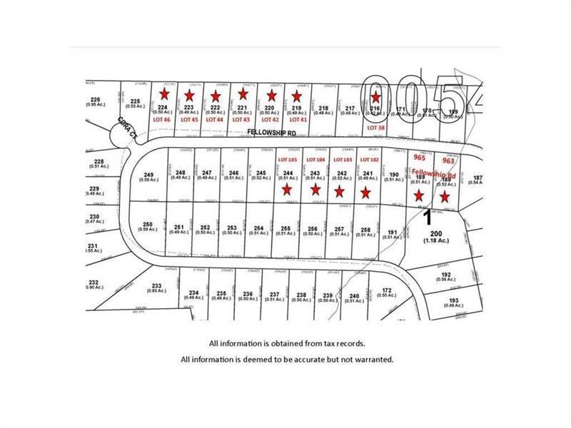 LT 105 Fellowship Road, Fairburn, GA 30213 (MLS #5734811) :: North Atlanta Home Team