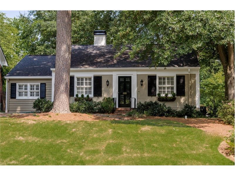 2393 Hurst Drive NE, Atlanta, GA 30305 (MLS #5738962) :: North Atlanta Home Team