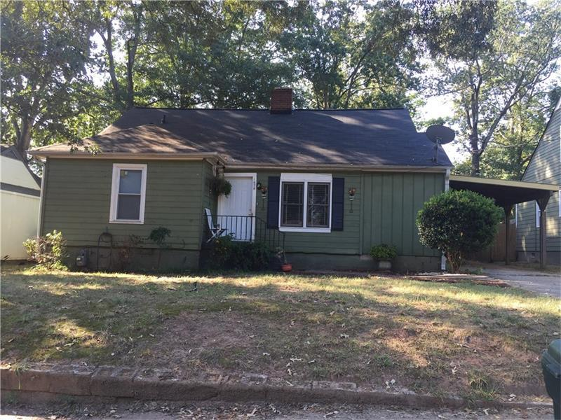 1678 John Calvin Avenue, College Park, GA 30337 (MLS #5742083) :: North Atlanta Home Team