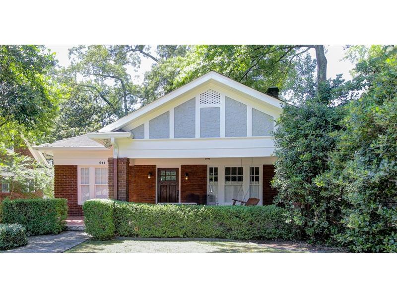 211 E Wesley Road NE, Atlanta, GA 30305 (MLS #5744319) :: North Atlanta Home Team
