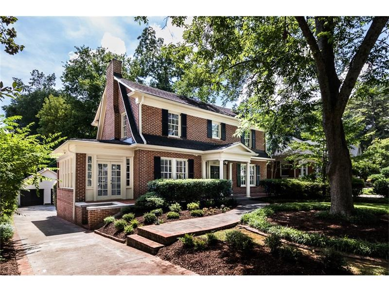 1277 Oakdale Road NE, Atlanta, GA 30307 (MLS #5744692) :: North Atlanta Home Team