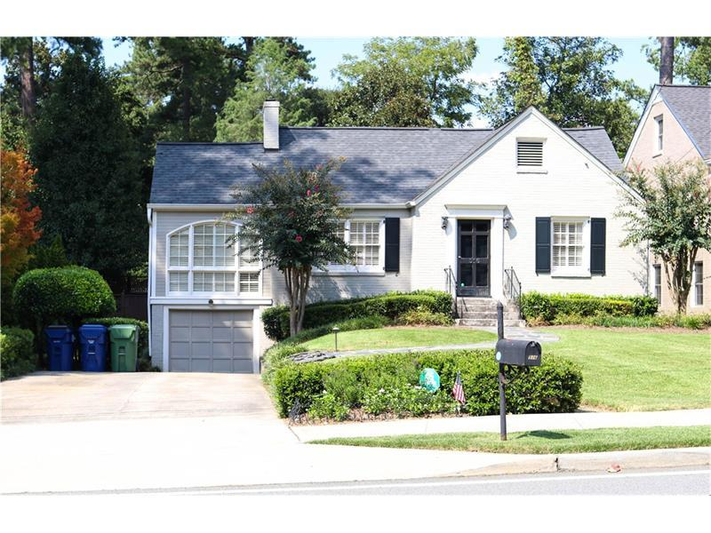 516 E Wesley Road NE, Atlanta, GA 30305 (MLS #5745227) :: North Atlanta Home Team