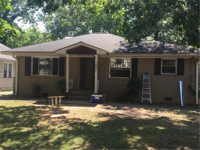 1687 Evans Drive SW, Atlanta, GA 30310 (MLS #5748190) :: North Atlanta Home Team